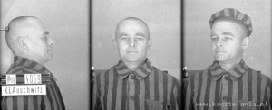 Zdjęcie obozowe rtm. Witolda Pileckiego