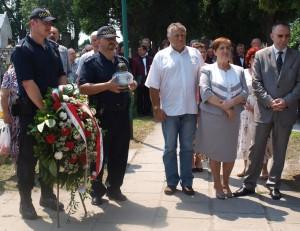 Maria Pędrak, z-ca prezydenta Oświęcimia i Piotr Hertig, przewodniczący rady (z prawej)