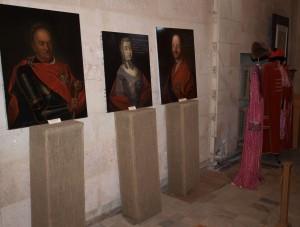 Wnętrze pałacu zamienione na muzeum. Fot. Adam Cyra
