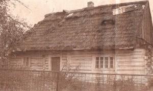 Dom rodzinny Antoniego Kocjana, fot. Olgerd Dziechciarz 2003 r.
