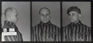 Antoni Kocjan, zdjęcie wykonane przez obozowe gestapo