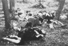 Pomordowani polacy w Parośli I - 9.02.1943 r.