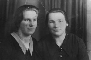 Stefania Magiera (z lewej)