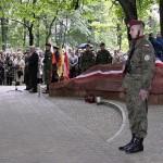 Pomnik na starym cmentarzu w Olkuszu, fot. Sławomir Mucha, 12.06.2005 r.