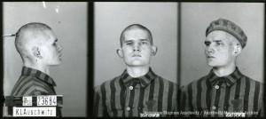Czesław Marcinkowski, zdjęcie wykonane przez obozowe gestapo