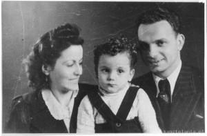 Zdjęcie ślubne Margarity i Rudolfa Friemlów