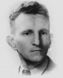 Roman Szuchewycz, komendant UPA, fot. 1944 r.