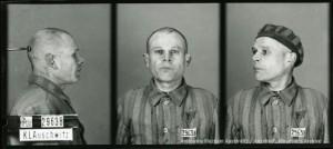 Władysław Kowanetz, zdjęcie wykonane przez obozowe gestapo