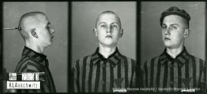 Tadeusz Sobolewicz, zdjęcie wykonane przez obozowe gestapo