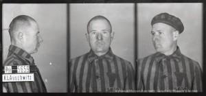 Franciszek Gajowniczek, zdjęcie wykonane przez obozowe gestapo