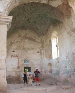 Ruiny kościoła w Czerwonogrodzie
