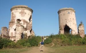 Ruiny pałacu w Czerwonogrodzie