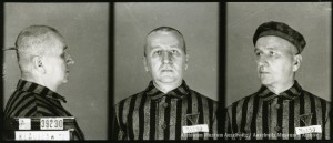 Bolesław Olszyński (ojciec), zdjęcie wykonane przez obozowe gestapo
