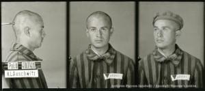 Julian Sawicki, zdjęcie wykonane przez obozowe gestapo