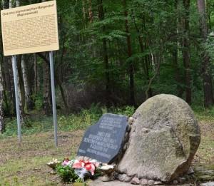 Tablica pamiątkowa w Magnuszewiczkach (Magnersdorf)