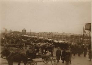 Pogrzeb ofiar obozu, 28.02.1945 r.