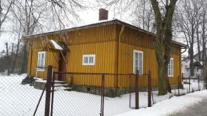 Leśniczówka w Olewinie koło Olkusza, gdzie Kazimierz Czarnecki spędził dzieciństwo