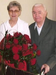 Ewa i Wojciech Drewniakowie (90. rocznica urodzin)