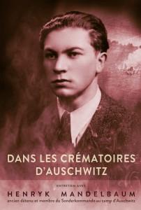 """Okładka książki """"Ja z krematorium Auschwitz"""" po francusku"""