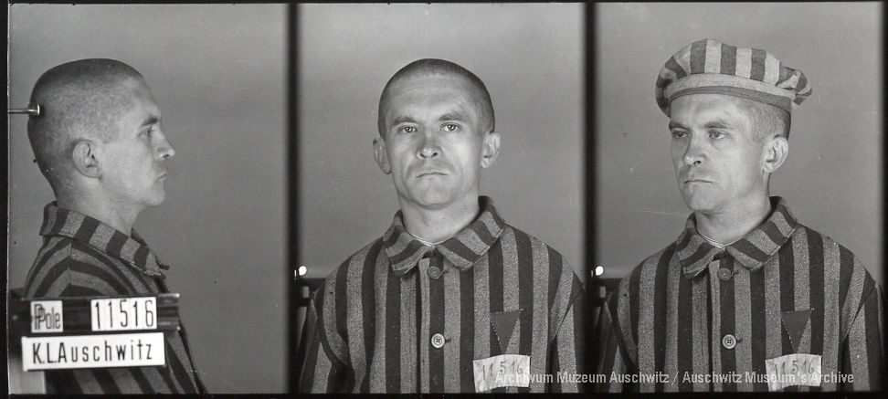 Stanisław Wąsowicz, zdjęcie wykonane przez obozowe gestapo