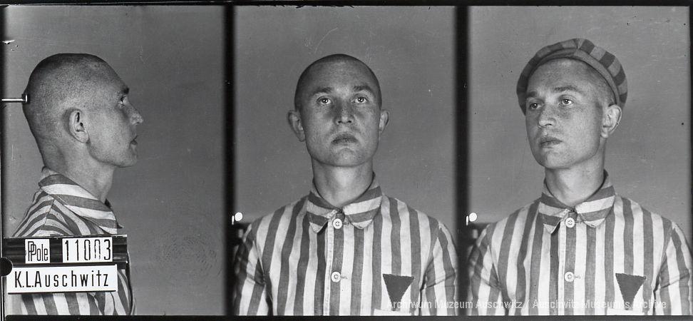 Stanisław Gutkiewicz, zdjęcie wykonane przez obozowe gestapo