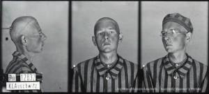 Bł. Ludwik Piotr Bartosik, zdjęcie wykonane przez obozowe gestapo