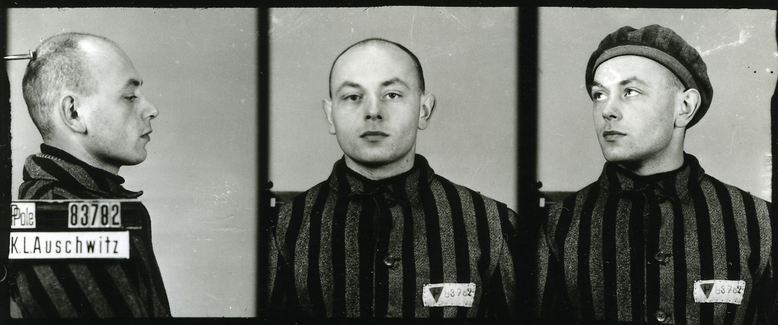Józef Seweryn, zdjęcie wykonane przez obozowe gestapo