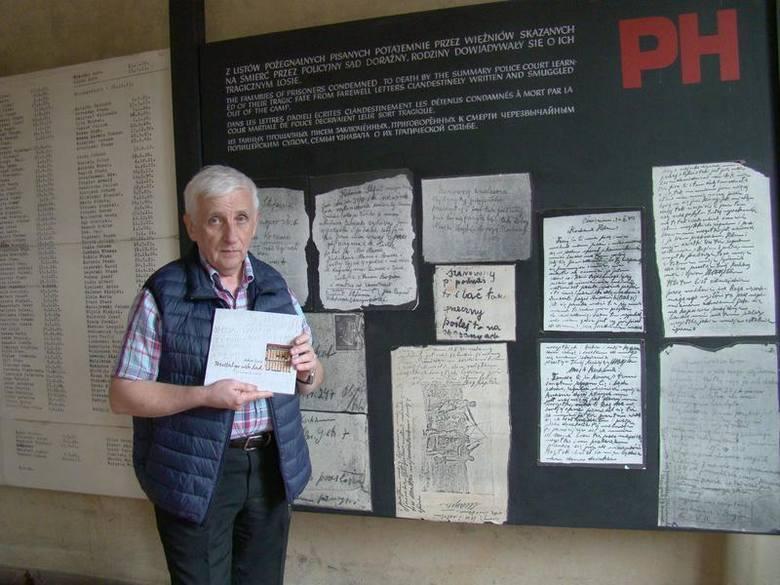 Wystawa o więźniach policyjnych na parterze bloku nr 11