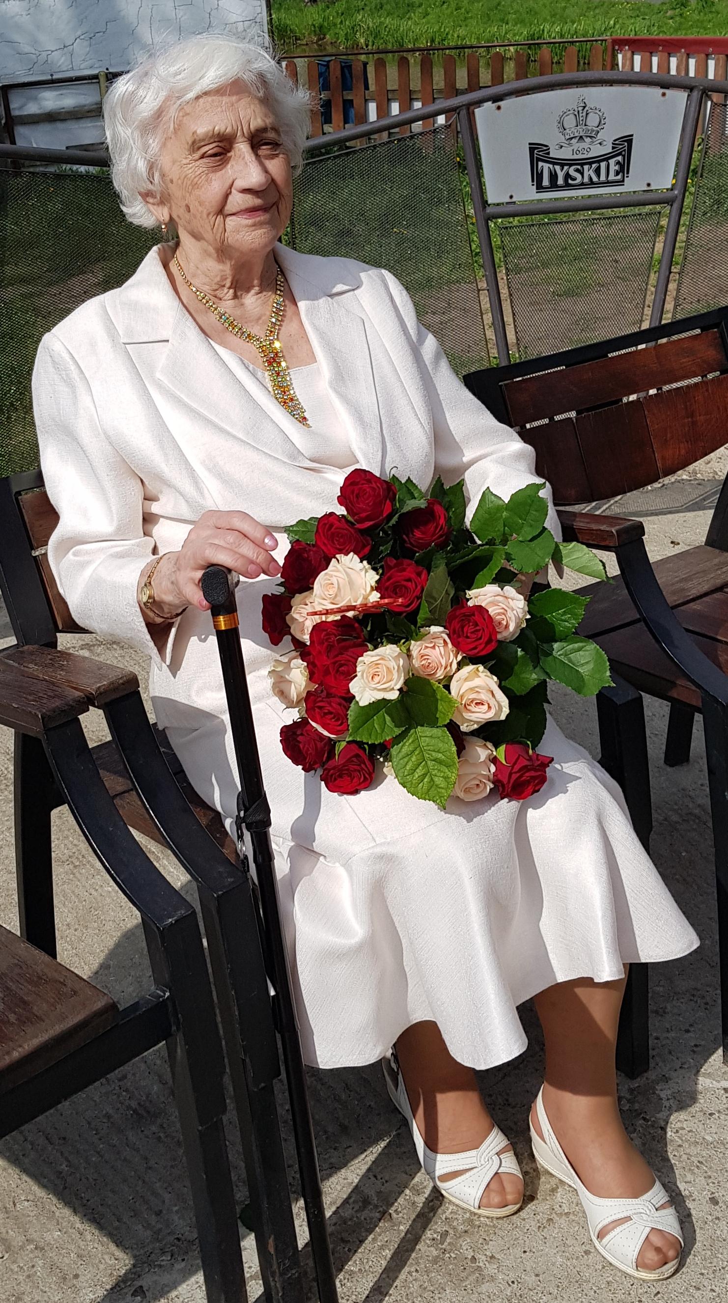 Zofia Zużałek, 96. urodziny (22.04.2018 r.)